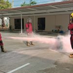 ハーモニックで防災訓練を実施